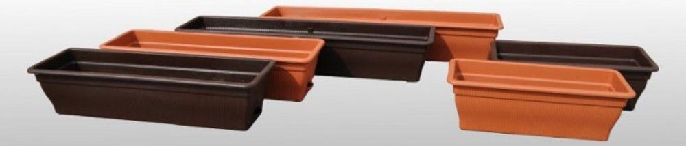 Balkonkasten mit Wasserspeicher 12/18/25 Liter diverse Farben Blumenkasten – Bild 2