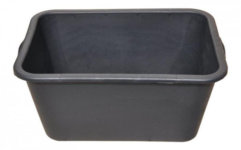 10x Mörtelkasten 40 Liter schwarz