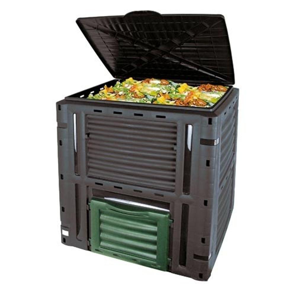Garten Komposter 450 L Gartenbehälter Gartenbox Kompostbehälter Thermokomposter