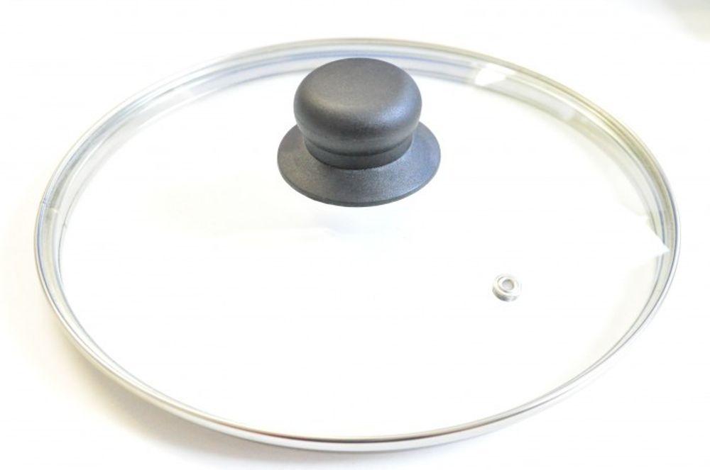 Pfannendeckel versch. Größen Topfdeckel Glasdeckel Deckel Topf Pfanne Kochtopf – Bild 1