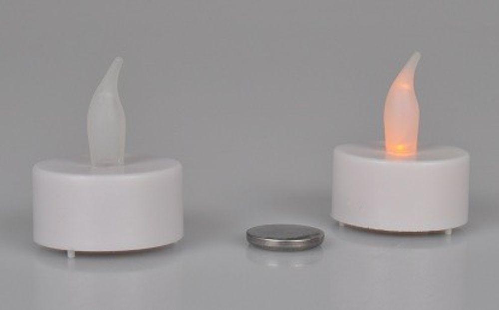 LED Teelichter (2er Set) x5 – Bild 1