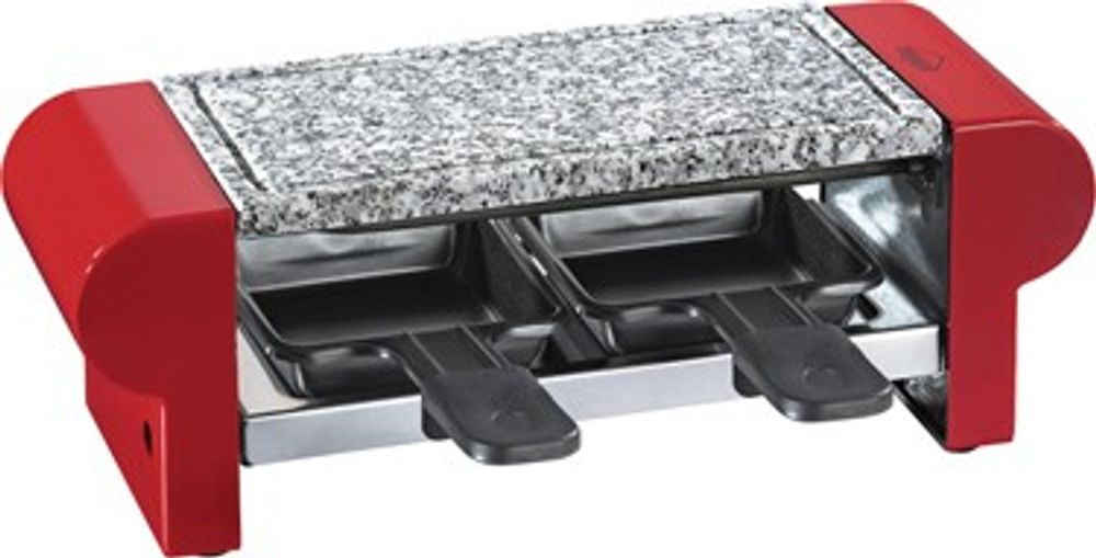 "KÜPRO Raclette ""Hot Stone Duo"" 17.8000.14.00 Duo-rot"