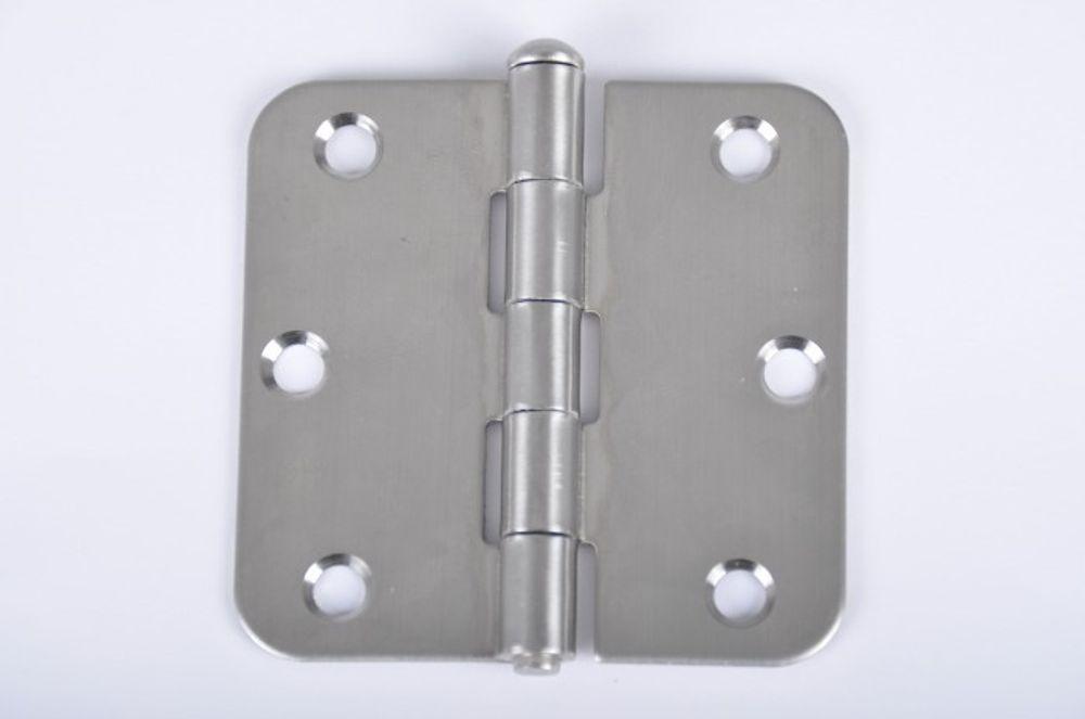 25 Stück Scharnier Edelstahl 76x76 mm Kistenbänder Torband Türband  Möbelscharnier