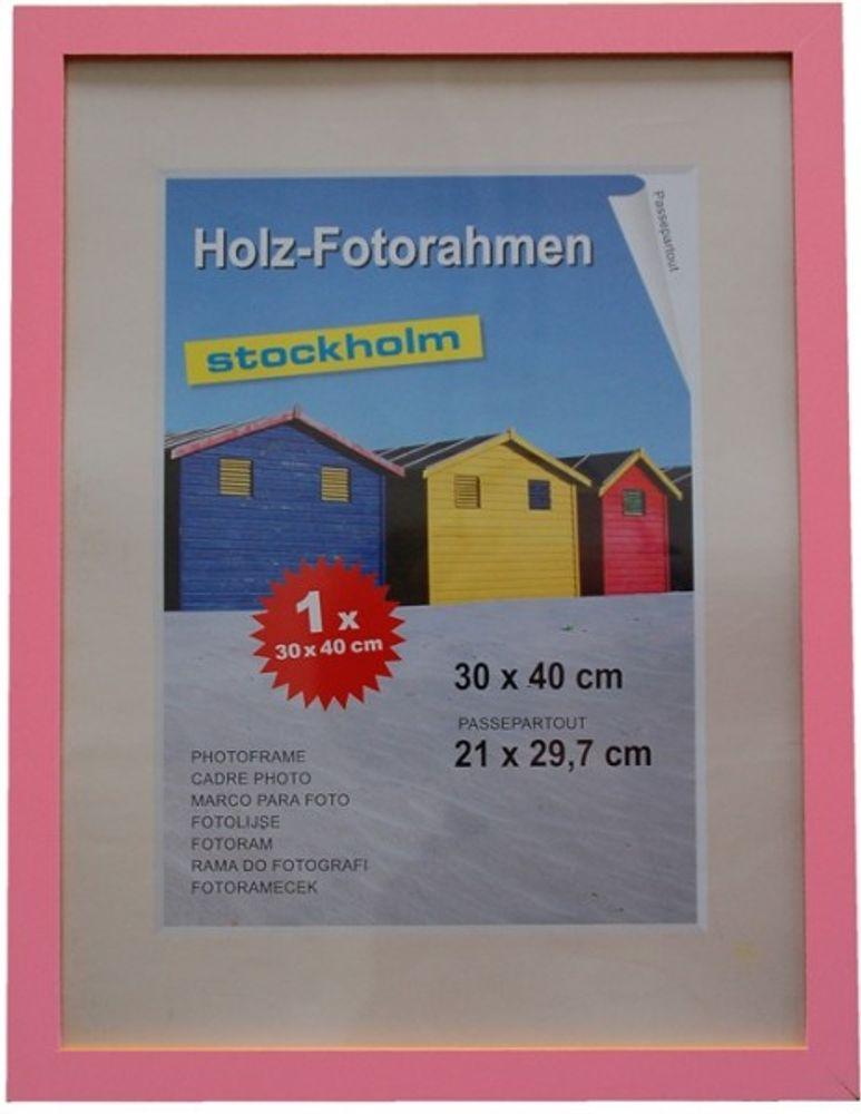 Holz Fotorahmen Bilderrahmen 30x40 cm Holzrahmen Rahmen Galerie Wanddeko – Bild 6