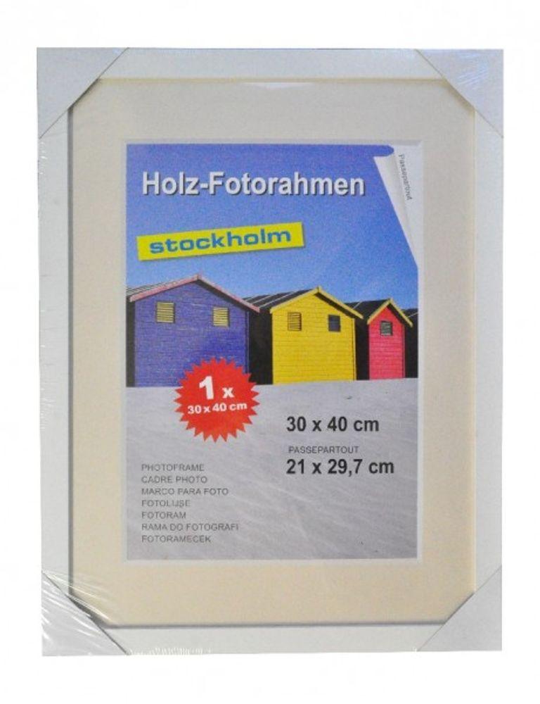 Holz Fotorahmen Bilderrahmen 30x40 cm Holzrahmen Rahmen Galerie Wanddeko – Bild 10