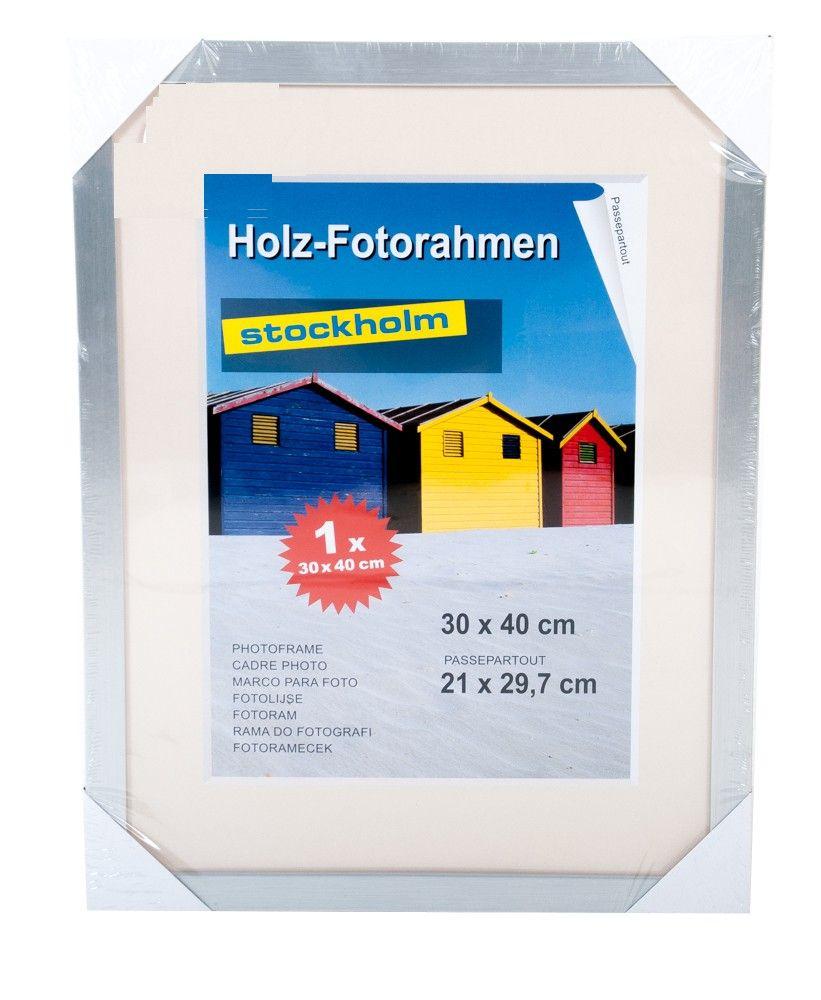 Holz Fotorahmen Bilderrahmen 30x40 cm Holzrahmen Rahmen Galerie Wanddeko – Bild 13