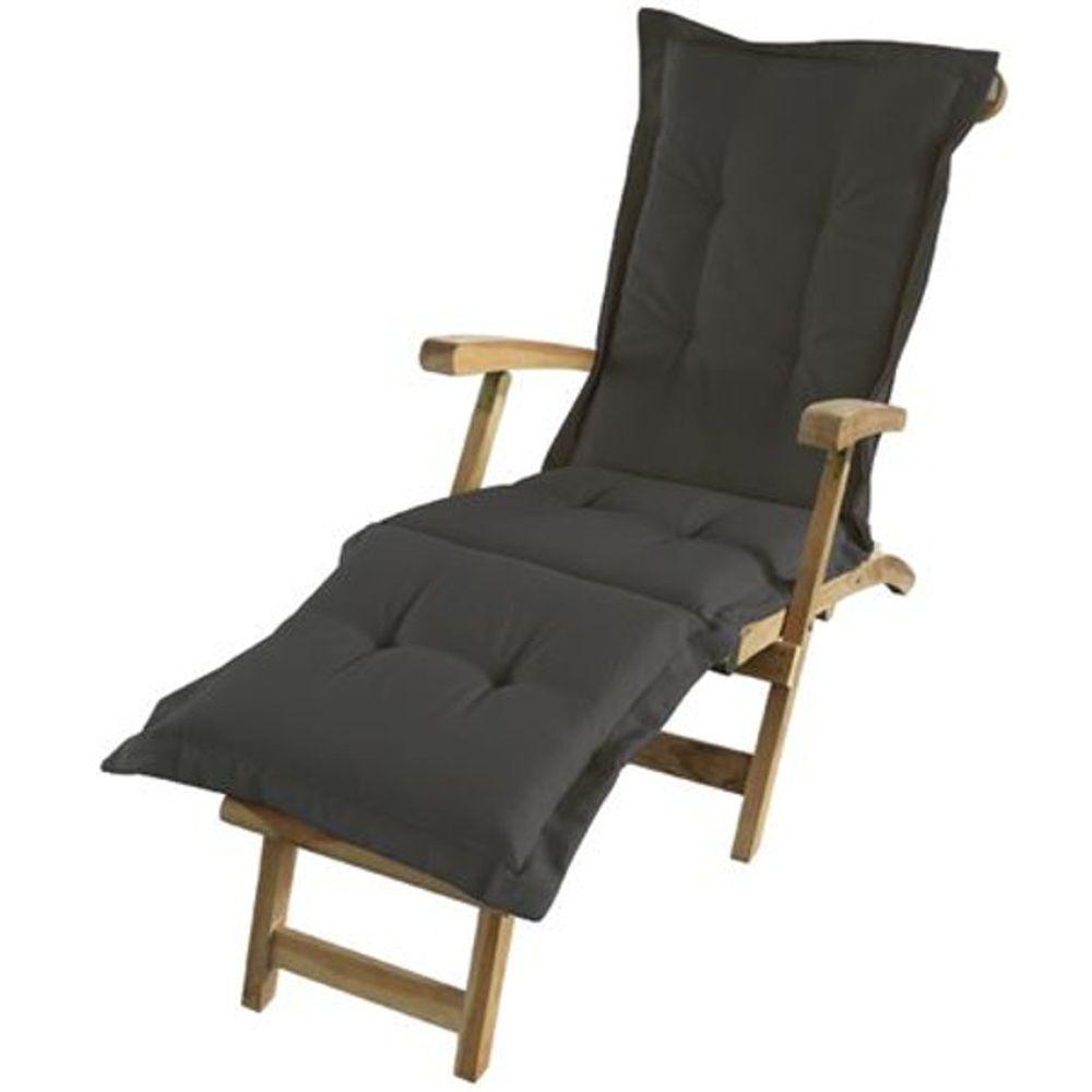 Teak Deckchair Auflage Liegenauflage Polsterauflage Stuhlkissen Polster 190x58cm – Bild 3