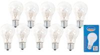 10 Stück Glühlampe E27 75Watt  001
