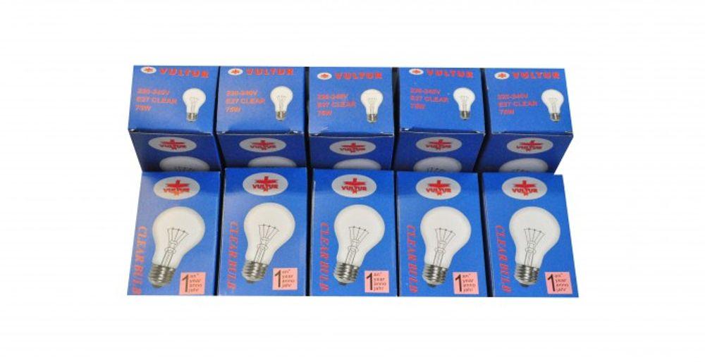 100 Stück Glühlampe E27 75Watt  – Bild 1