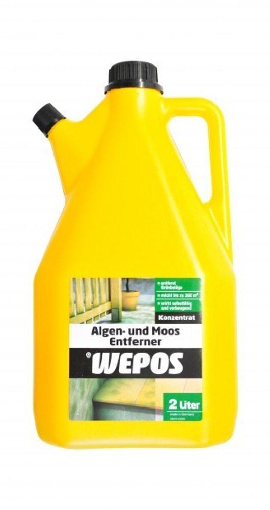 Wepos Algen und Moos Entferner 10x2Liter Konzentrat