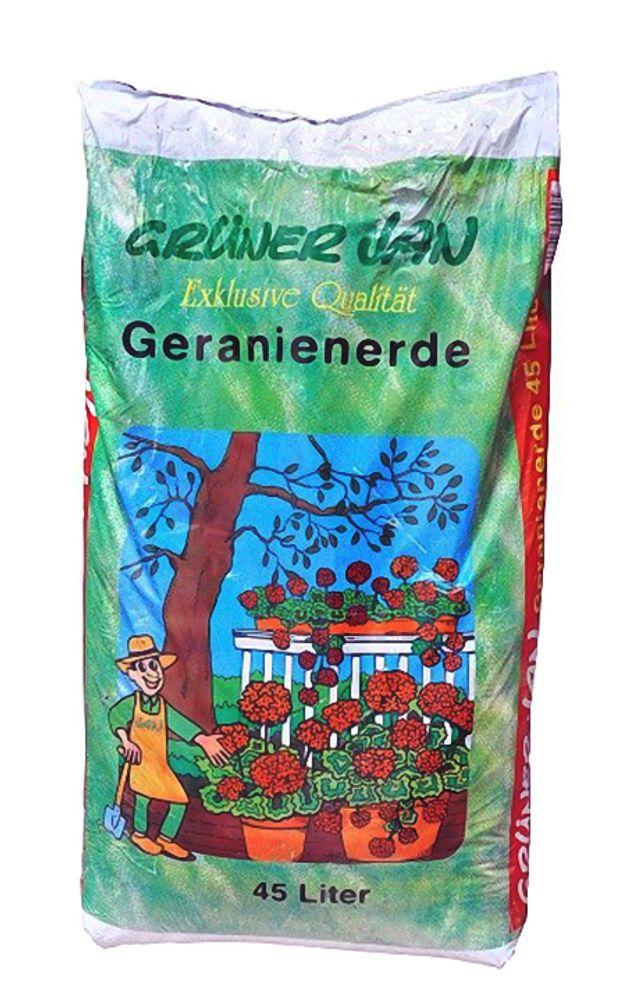 Grüner Jan Geranienerde 45L