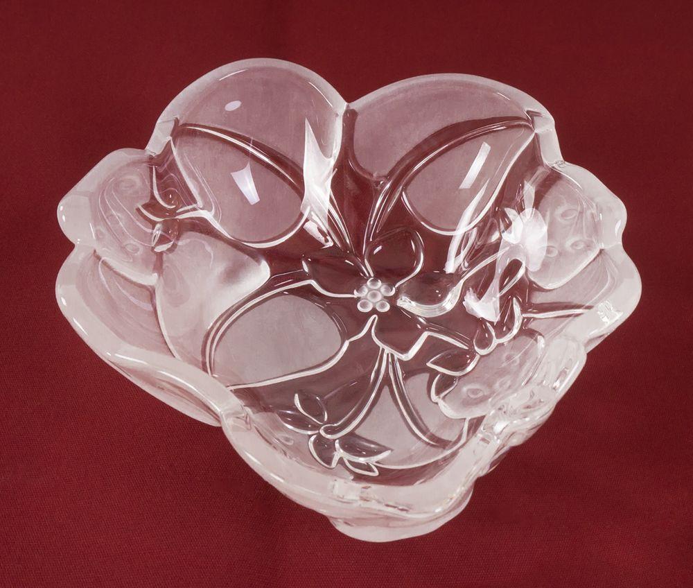 """Walther Glas """"Fancy"""" Erdbeerschale 18 cm – Bild 1"""