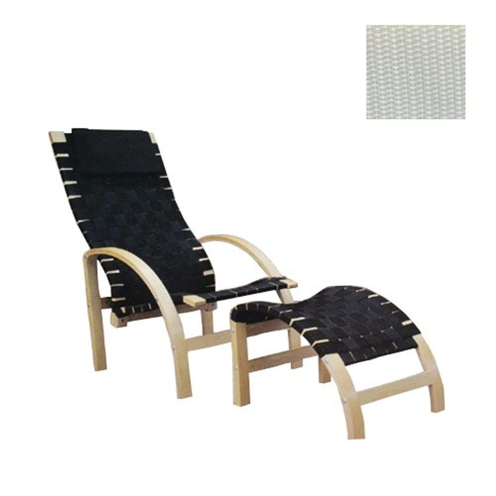 Relax-Sessel mit Fußhocker Fernsehsessel Lesesessel Relaxsessel Wintergarten  – Bild 1