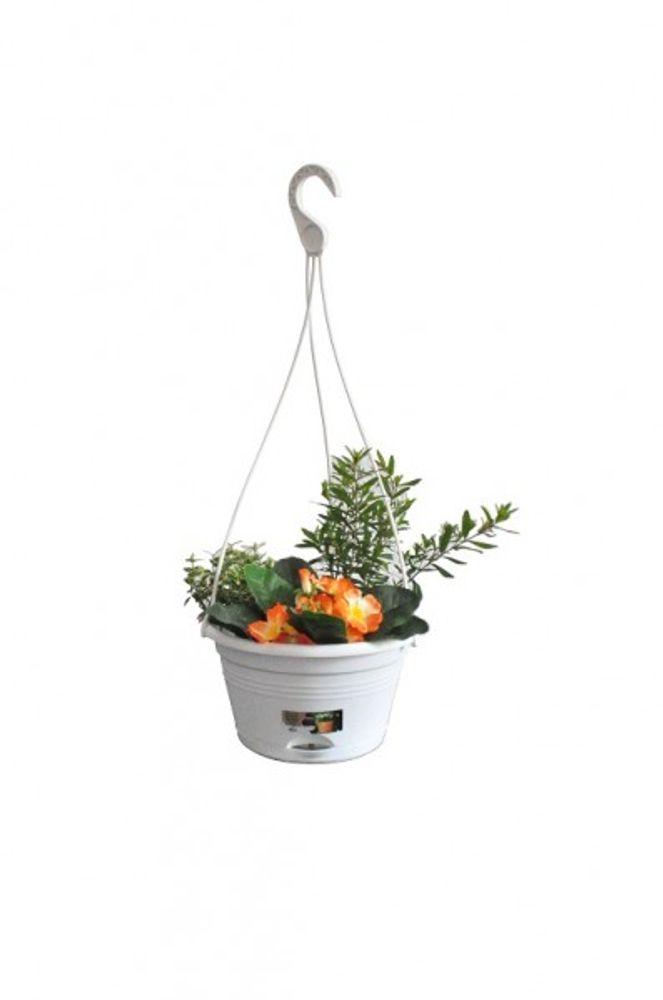 elho Blumenampel 22 cm weiß – Bild 1