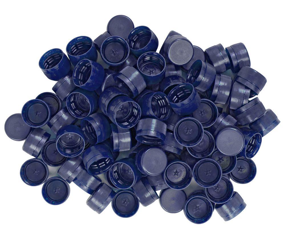 100x Deckel für PETlinge verschiedene Farben Schraubdeckel PETling Kunststoff – Bild 3