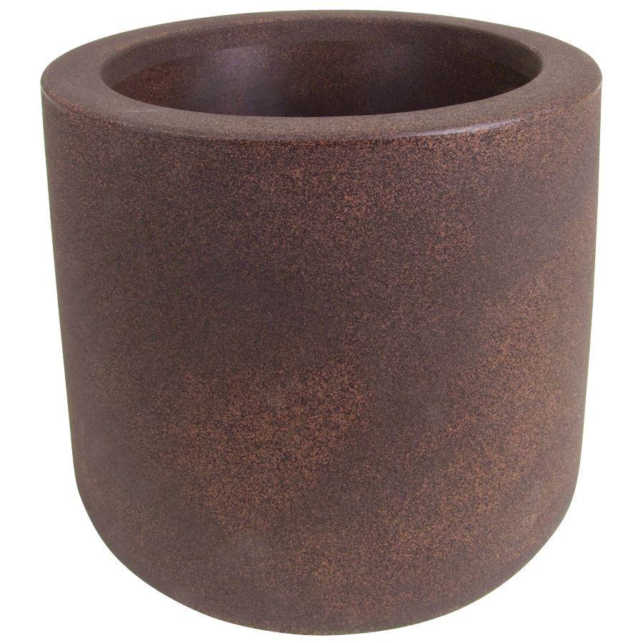blumenk bel rund 39 cm auf rollen garten pflanzzubeh r pflanzgef e blument pfe k bel. Black Bedroom Furniture Sets. Home Design Ideas