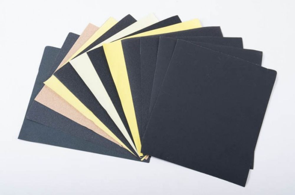 50 Blatt Schleifpapier versch. Körnung 280x230 cm – Bild 1
