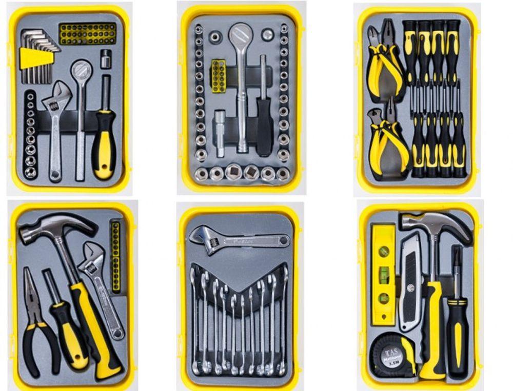 Werkzeugsets in verschiedenen Ausführungen – Bild 1