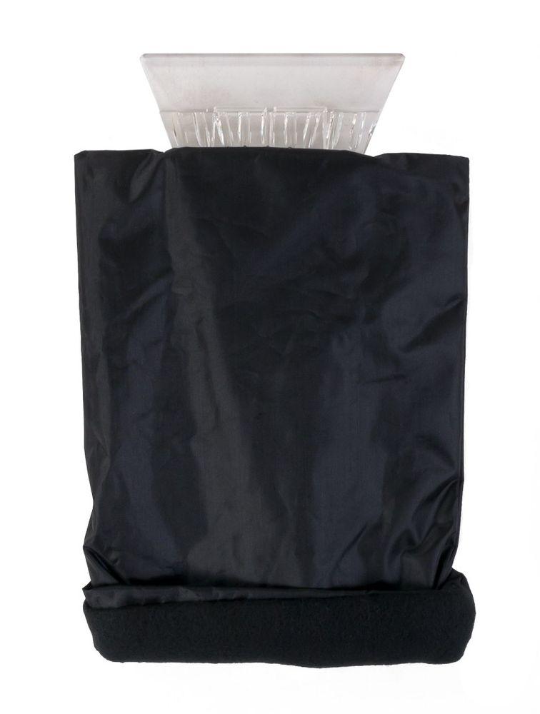 Eisschaber mit Handschuh Eiskratzer Enteiser Scheibenkratzer Scheibenenteiser  – Bild 1