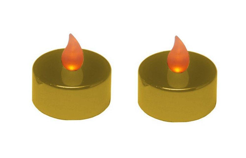 2er Set Teelichter LED verschiedene Farben – Bild 7
