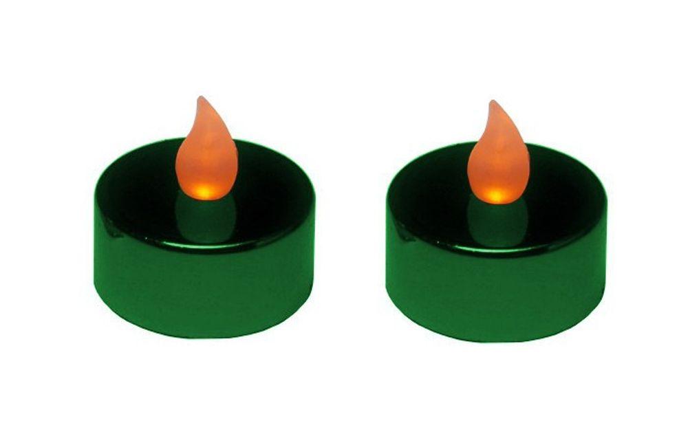2er Set Teelichter LED verschiedene Farben – Bild 4
