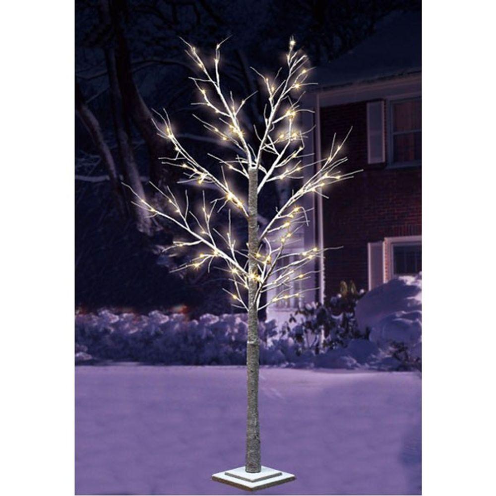 LED Winter-Leuchtbaum 1,0m 48 LED´s