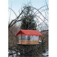 Vogelfutterhaus aus Kunststoff Vogelhaus Futterhaus Vogelhäuschen Futterstation 001