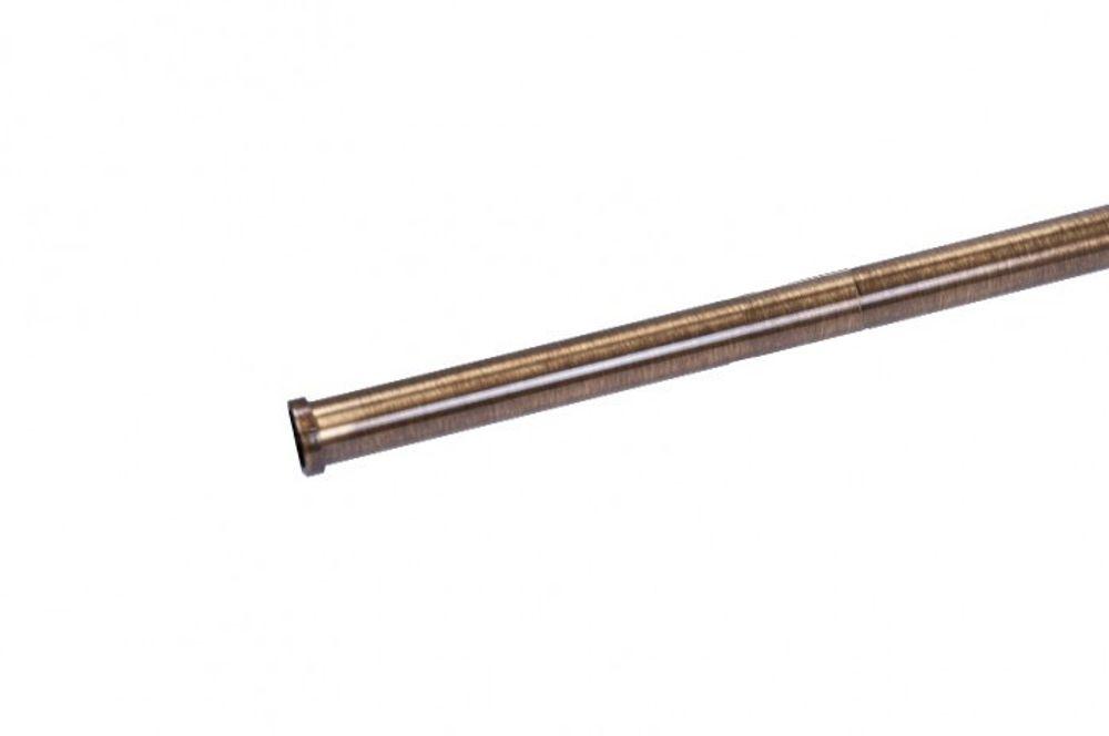 Wesco Relingsystem 16x1000 mm Messing Küchenleiste Gardinenstange Küchenreling – Bild 1