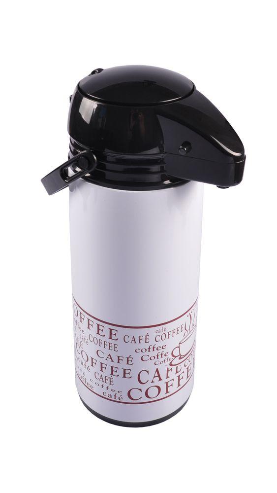 Pump Thermoskanne 1,9L Kaffeekanne Pumpkanne Isolierkanne – Bild 9