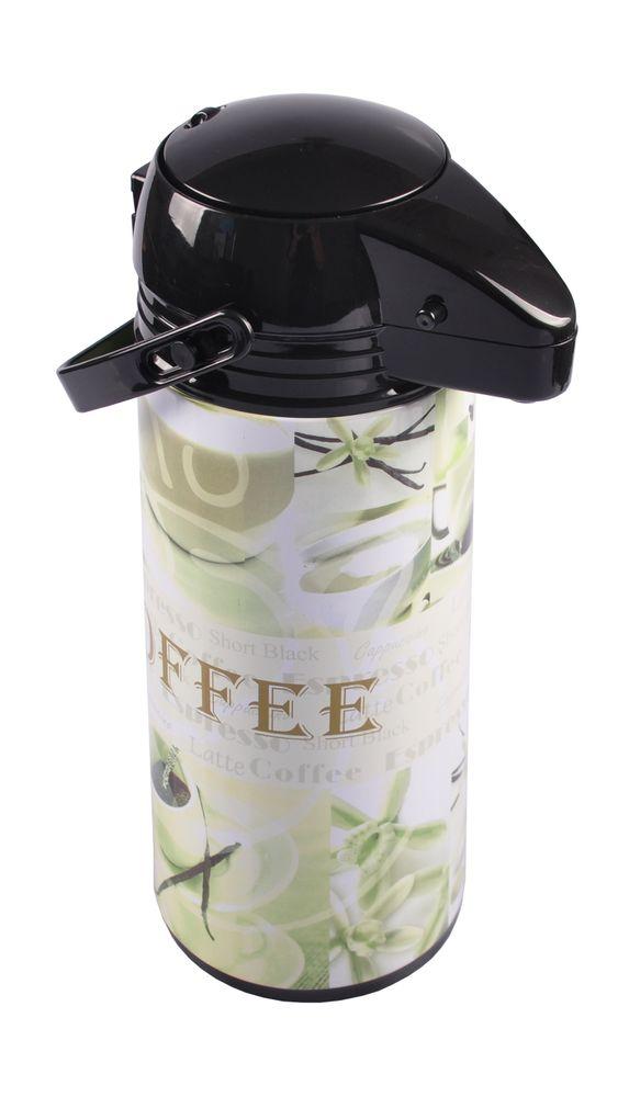 Pump Thermoskanne 1,9L Kaffeekanne Pumpkanne Isolierkanne – Bild 8
