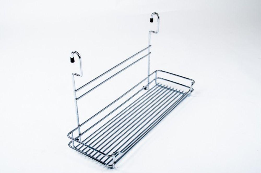 Wesco Relingsystem Ablage 450/280 Chrom matt Küchenreling
