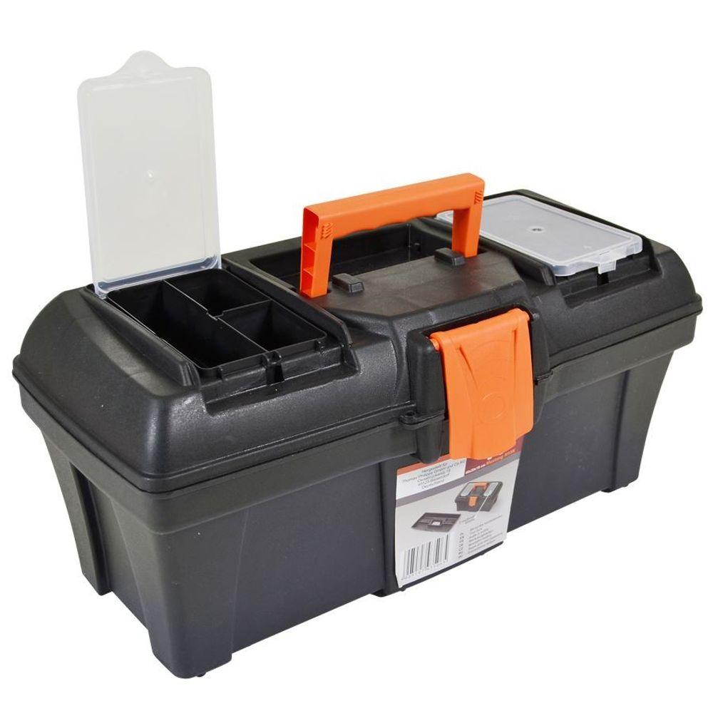 Werkzeugkasten 40x18x19 cm Werkzeugkoffer Werkzeug Koffer Werkzeugkiste Kiste – Bild 2