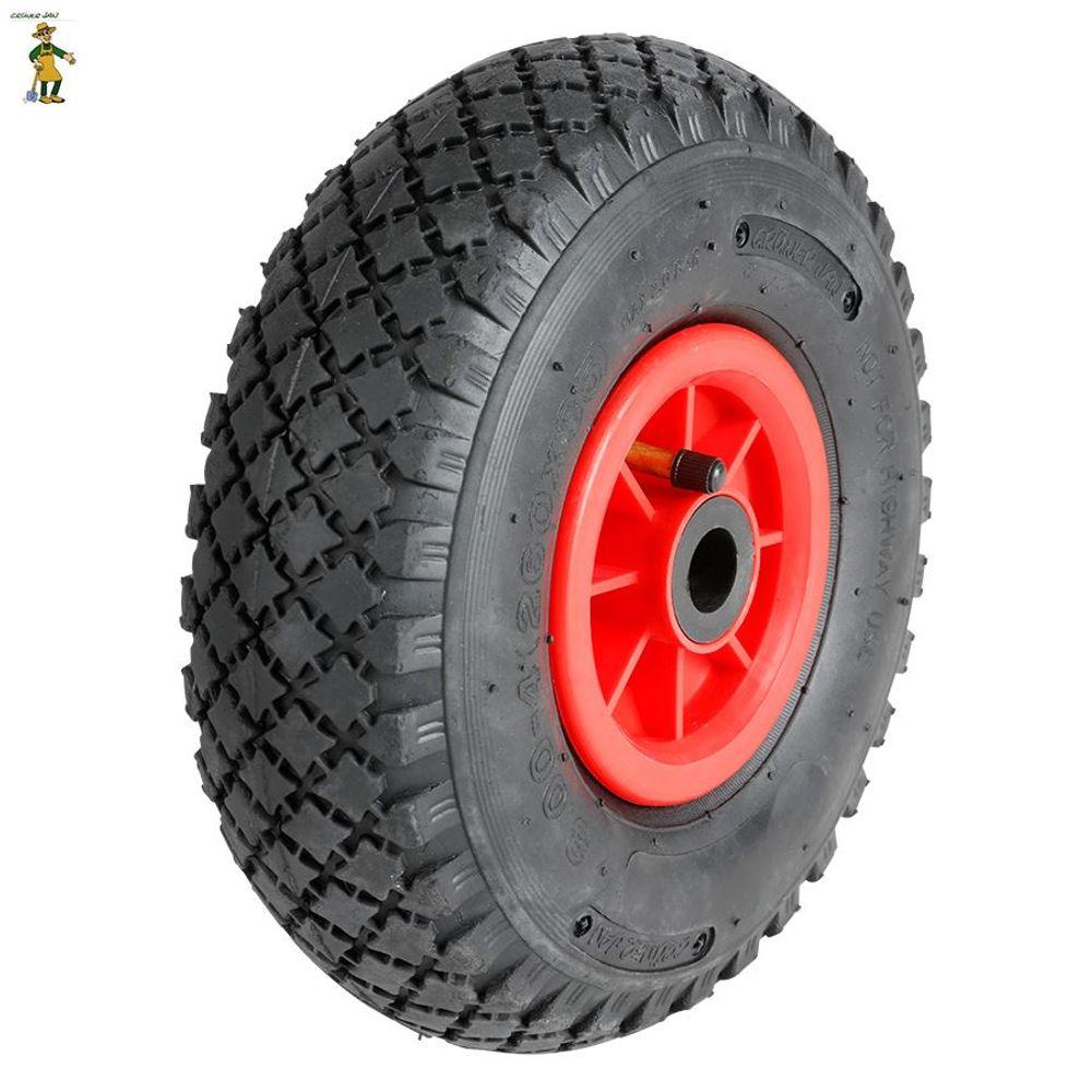 Ersatzreifen für Sackkarre Schubkarre Baukarre Bollerwagen Ersatzrad Reifen Rad  – Bild 1