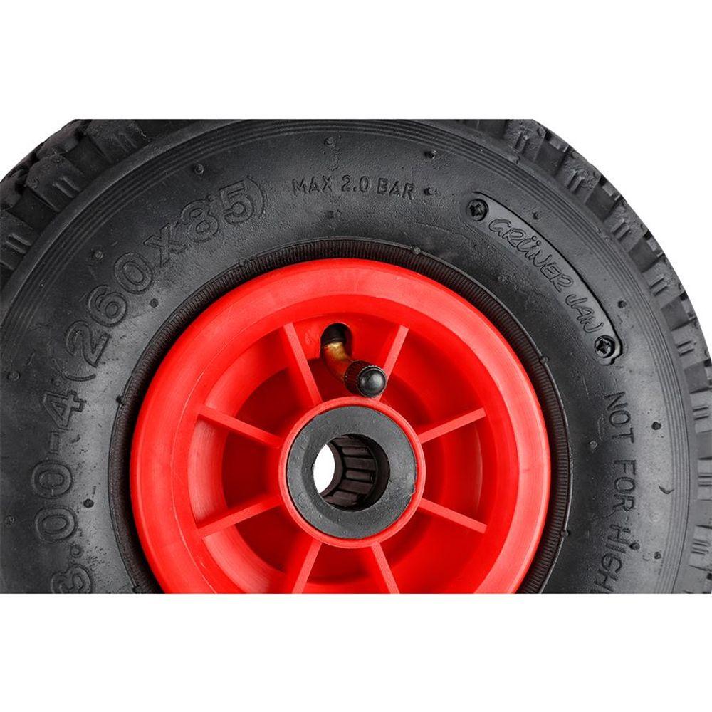 Ersatzreifen für Sackkarre Schubkarre Baukarre Bollerwagen Ersatzrad Reifen Rad  – Bild 3