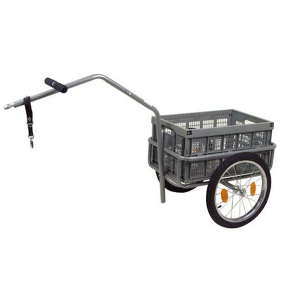 Fahrradanhänger Lastenanhänger Transportanhänger Gepäckwagen Handwagen Klappbox  – Bild 1