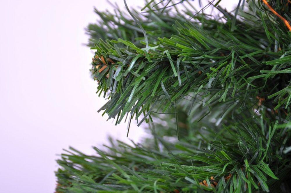 Tischtannenbaum grün verschiedene Größen + LED Lichterkette rot – Bild 3