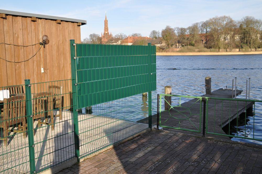 28m² PVC Sichtschutz grün – Bild 3