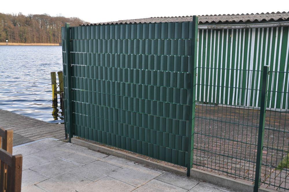28m² PVC Sichtschutz grün – Bild 5