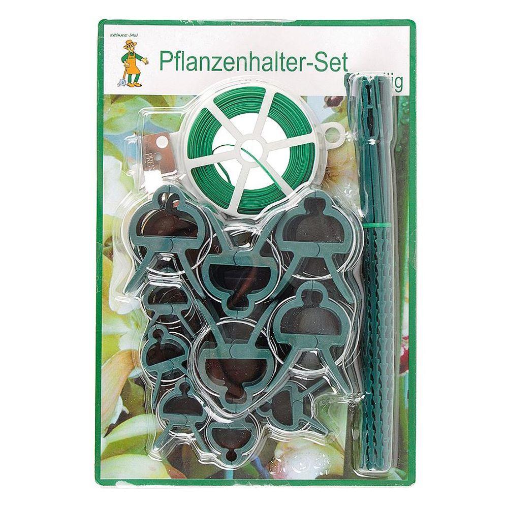 Grüner Jan Pflanzenhalter Set-61-teilig Pflanzenclips – Bild 1