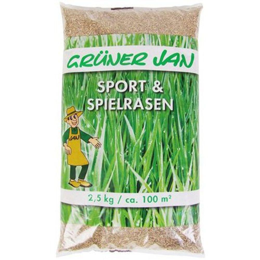 Sport und Spielrasen 2,5 kg Sämereien Grassamen Rasensaat Saatgut Gras Rasen neu