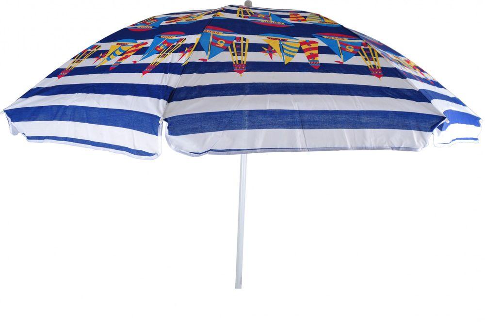 Baumwoll-Sonnenschirm 160cm Strandschirm Gartenschirm Sonnenschutz Camping – Bild 3