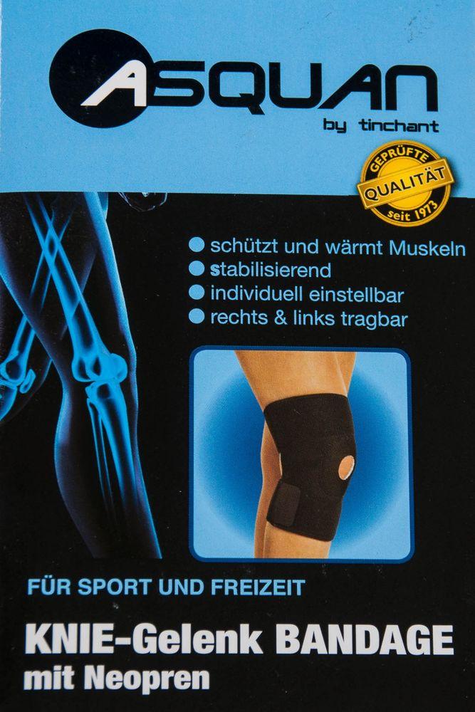ASQUAN Knie-Gelenk Bandage mit Neopren – Bild 1
