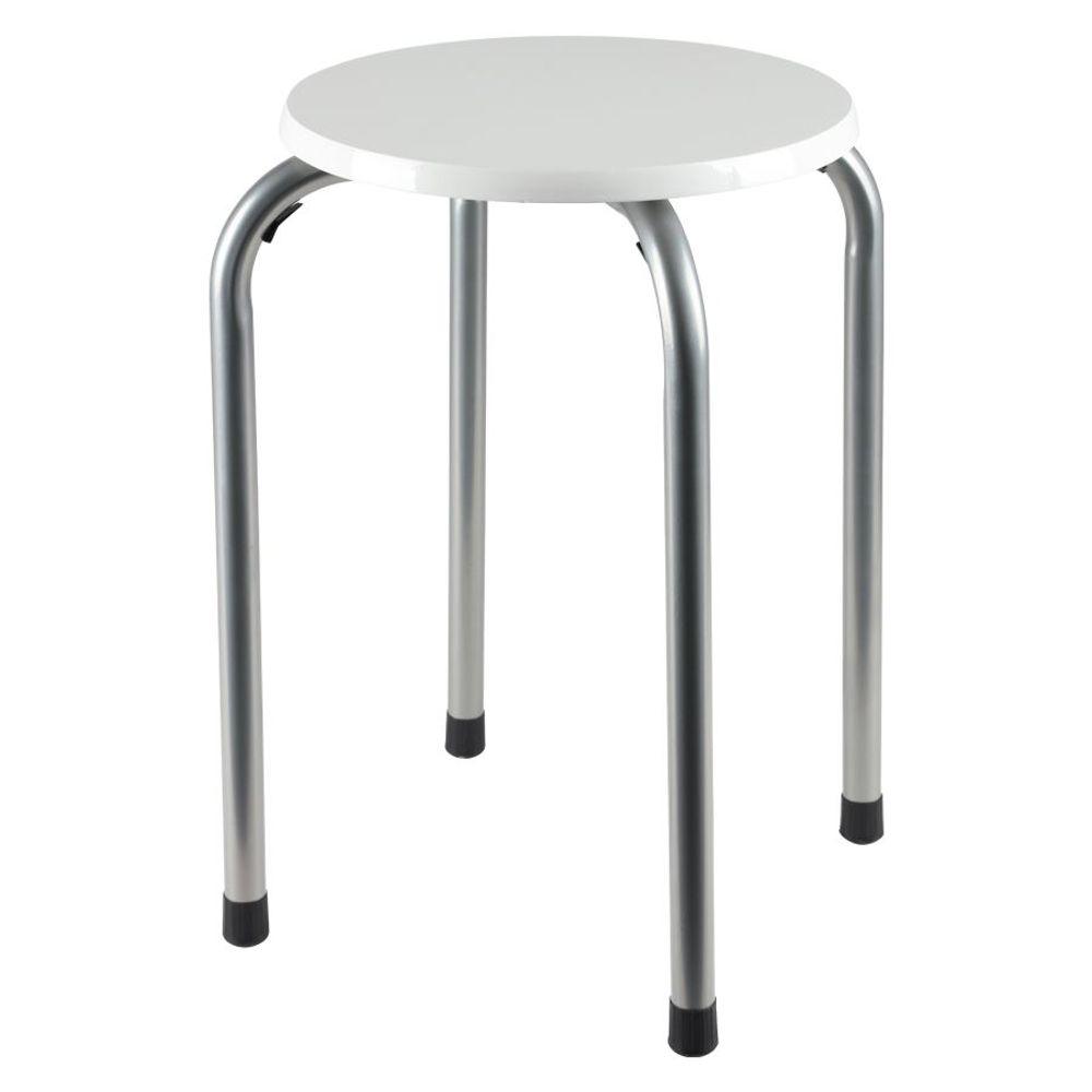 Metall Stapelhocker Stapelstuhl Partyhocker Gästehocker Sitzhocker Hocker Stuhl – Bild 4