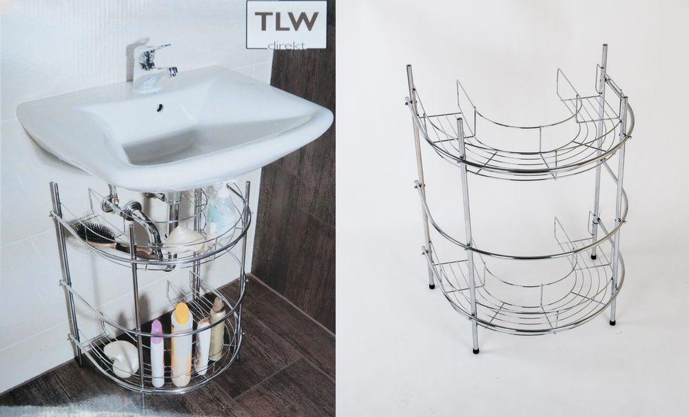 TLW direkt Waschtisch-Regal Badregal – Bild 1
