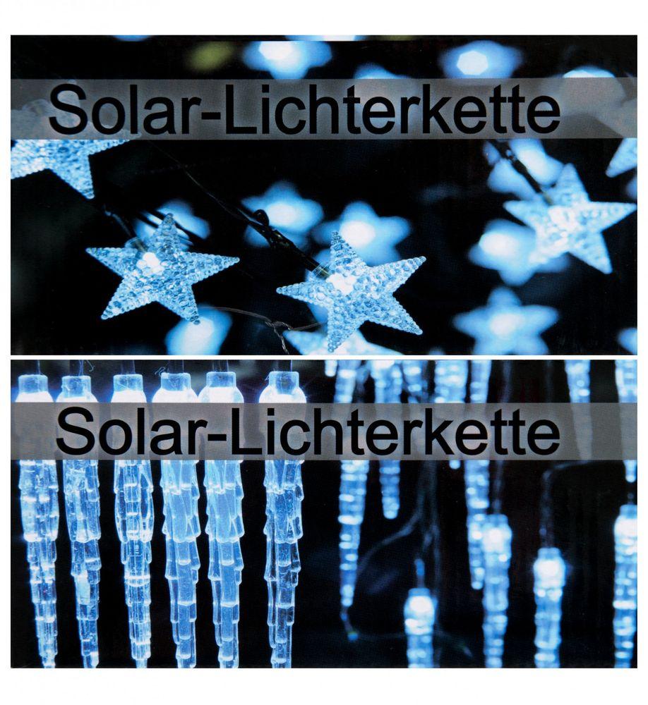 LED Solar-Lichterkette - verschiedene Designs – Bild 1