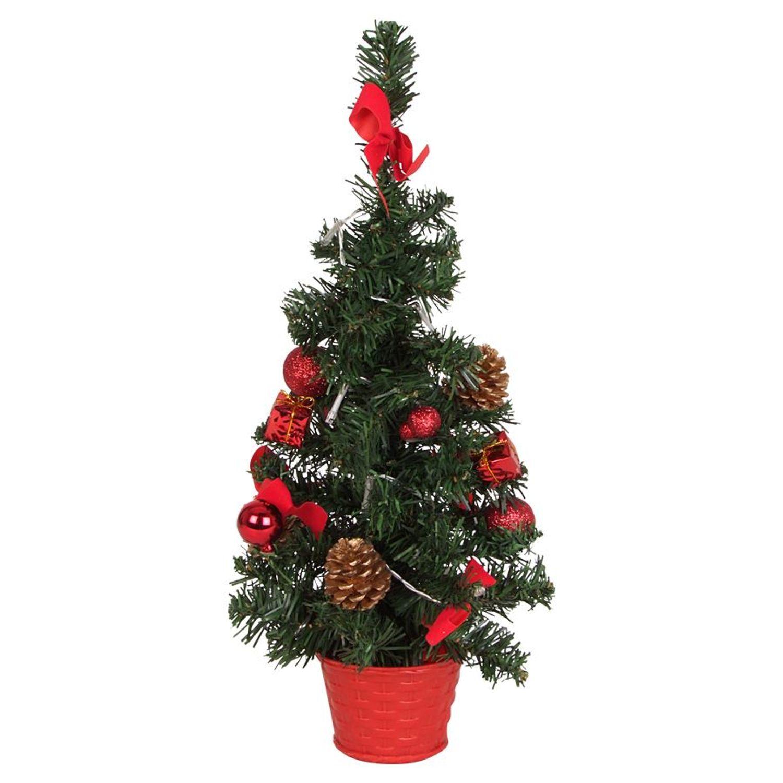 led deko weihnachtsbaum h 45cm 10 lichter m bel wohnen. Black Bedroom Furniture Sets. Home Design Ideas