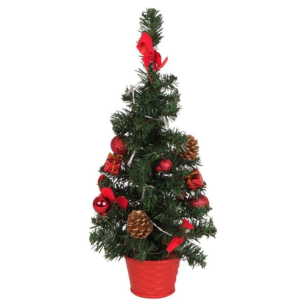 LED Deko Weihnachtsbaum H=45cm 10 Lichter – Bild 4