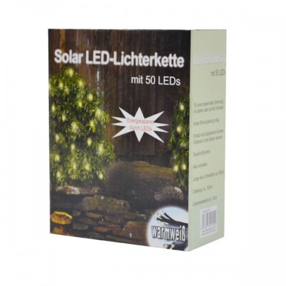 Solar LED-Lichterkette 50