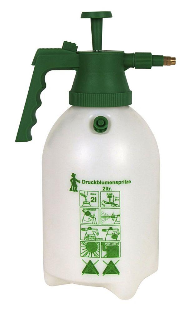 Druckblumenspritze 2 Liter Drucksprüher Pumpsprüher Gartenspritze Blumensprüher