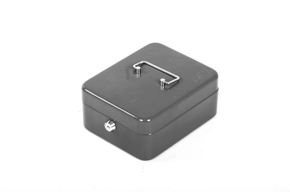 Stahl Geldkassette abschließbar Geldkasse Münzkassette Münzeinsatz Sparschwein – Bild 5